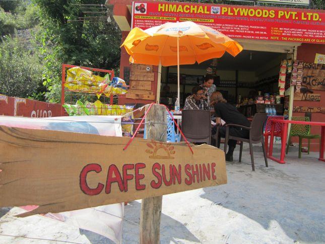 cafe sun shine