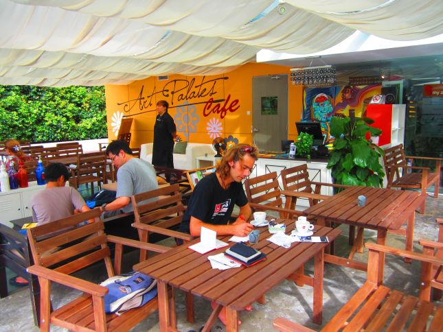 singapore art cafe
