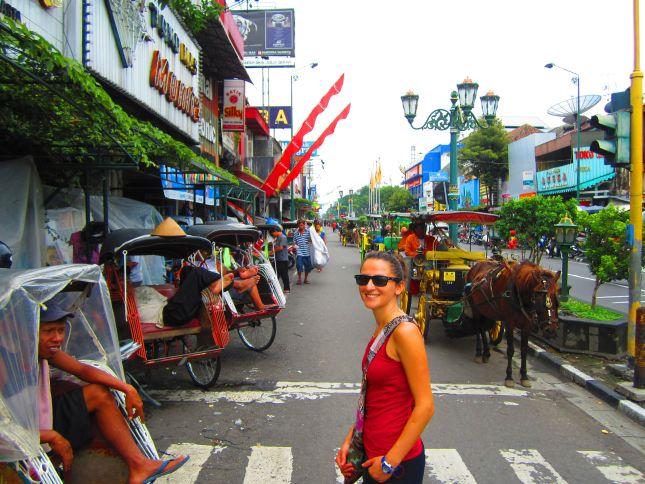 Yogyakarta Malioboro Street