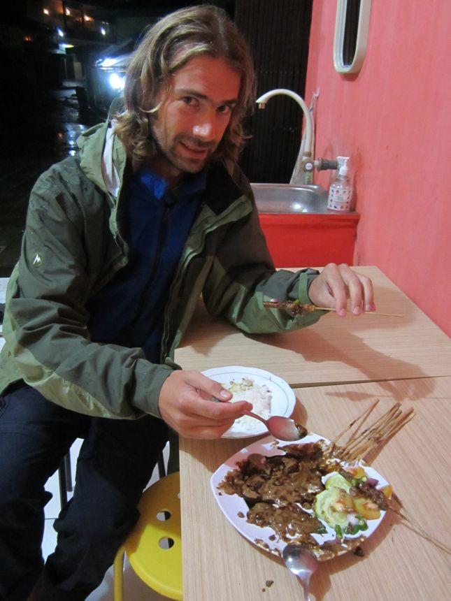 dieng plateau chicken satay