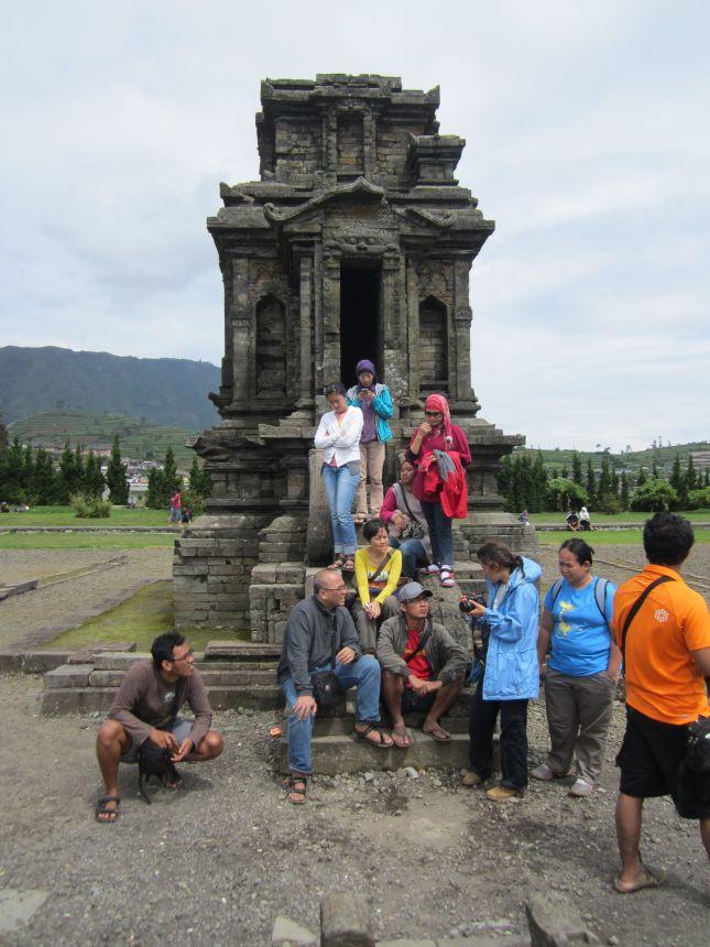 Hindu Temple Dieng Plateau