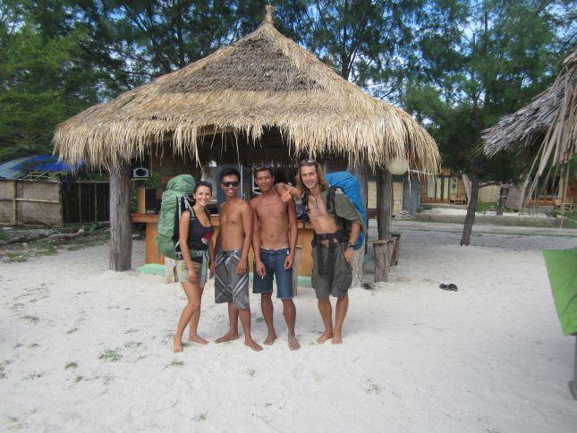 Gili Trawangan with friends