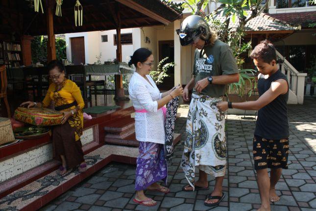 dhamma ceremony denpasar