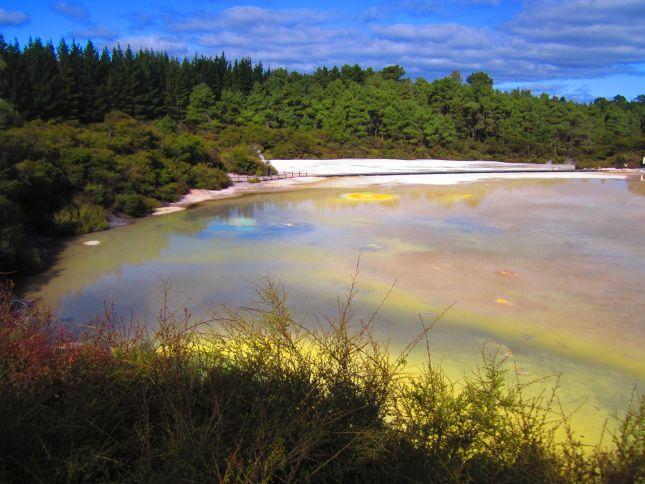 Artist's Palette Wai-Tapu Thermal Wonderland, North Island, New Zealand