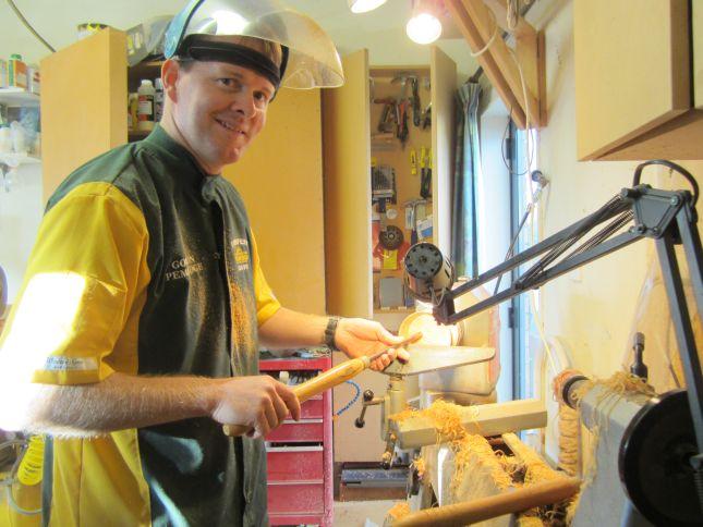 Gordon Pembridge Wood Turning Artist, Auckland, New Zealand