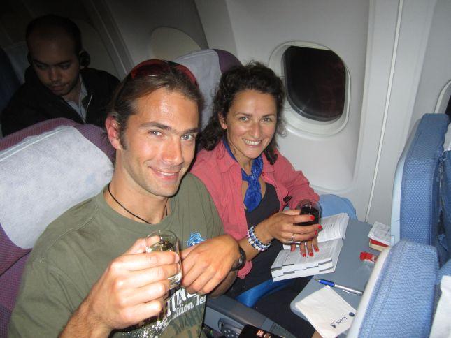 Lan airline Auckland Santiago flight
