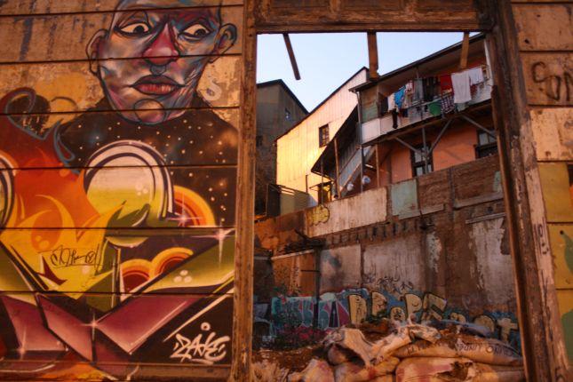 valparaiso grafitti