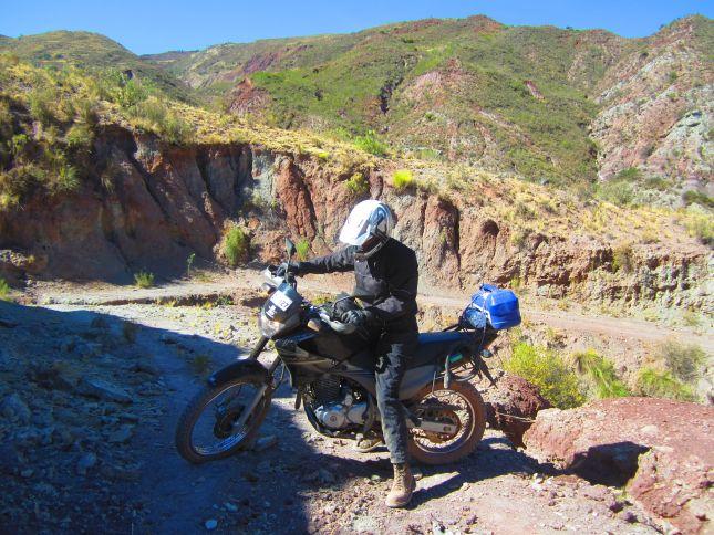 motorbiking around potolo